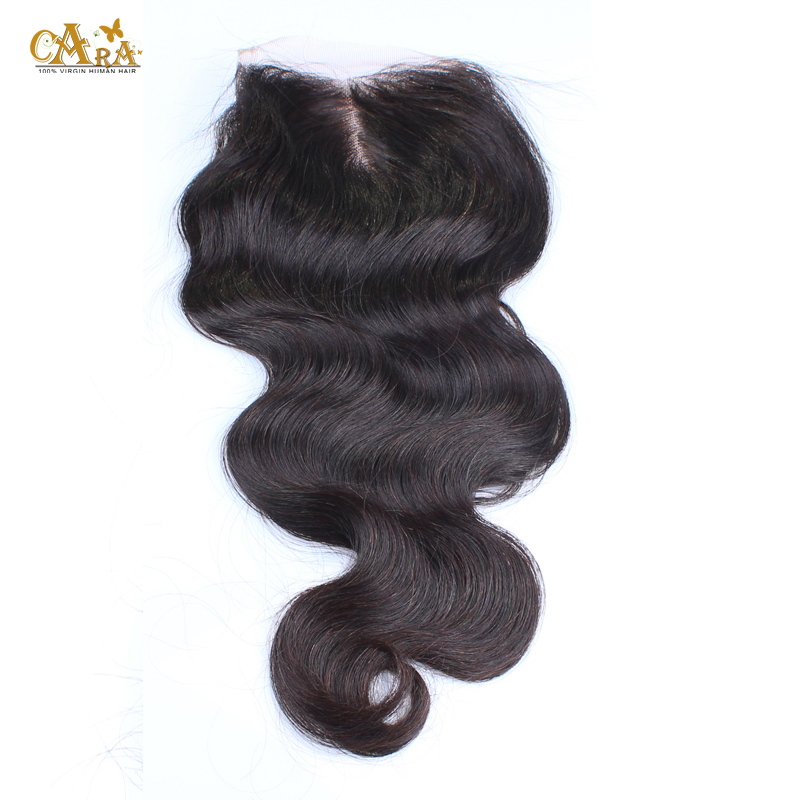 Burmese Body Wave Lace Closure 3.5X4 Lace Closure Bleached Knots With Baby Hair 3 Part Closure 100% Unprocessed Burmese Hair<br><br>Aliexpress