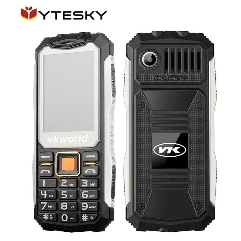 Original VKWorld Stone V3S Long Standby Daily Waterproof Mobile Phone 6531D 2.4 inch Dual SIM Bluetooth Russian Keyboard(China (Mainland))