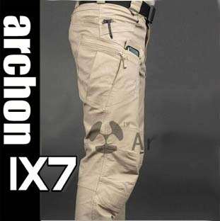 IX7 Tactical Cargo Pants Men Casual SWAT Combat Training Multi-pockets Trousers Overalls Cotton Sports Military Army Cool Pant(China (Mainland))