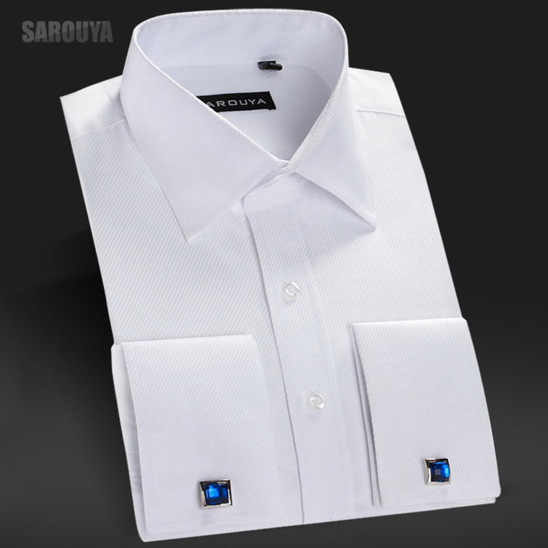 The gallery for cufflink shirt for French cuff shirts cheap