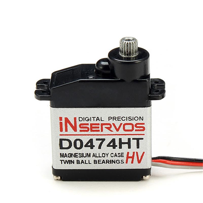 Inservos Digital 7.4v 3.6kg Metal Gear Micro Servo D0474HT-HV For RC Helicopter Spare Parts(China (Mainland))
