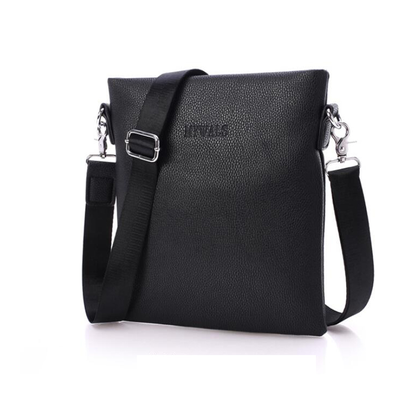 new 2016 hot sale fashion men bags male famous brand design leather messenger bag high quality man brand bag wholesale price(China (Mainland))