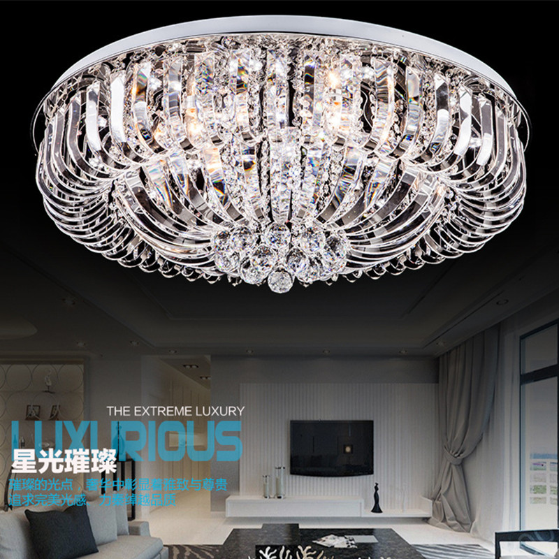 Bedroom modern crystal ceiling lights living room led lamps bedroom lighting Free shipping(China (Mainland))