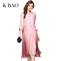 Silk Dress Long Floor Length Dresses Girls Loose Traditional Chinese Clothing For Women Pink Blue Red