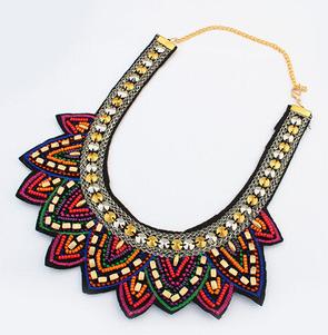 Star Jewelry 2014 New Design Bohemia Gem Chokers Statement Necklace Woman necklaces & pendants Retro Christmas 153 - Mamojko Store store