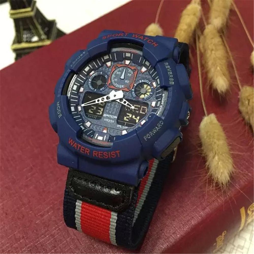 2016 Mens Digital Watch Men Sports Watches Relogio Masculino SANDA G Style S Shock Relojes LED Military Waterproof Wristwatches<br><br>Aliexpress