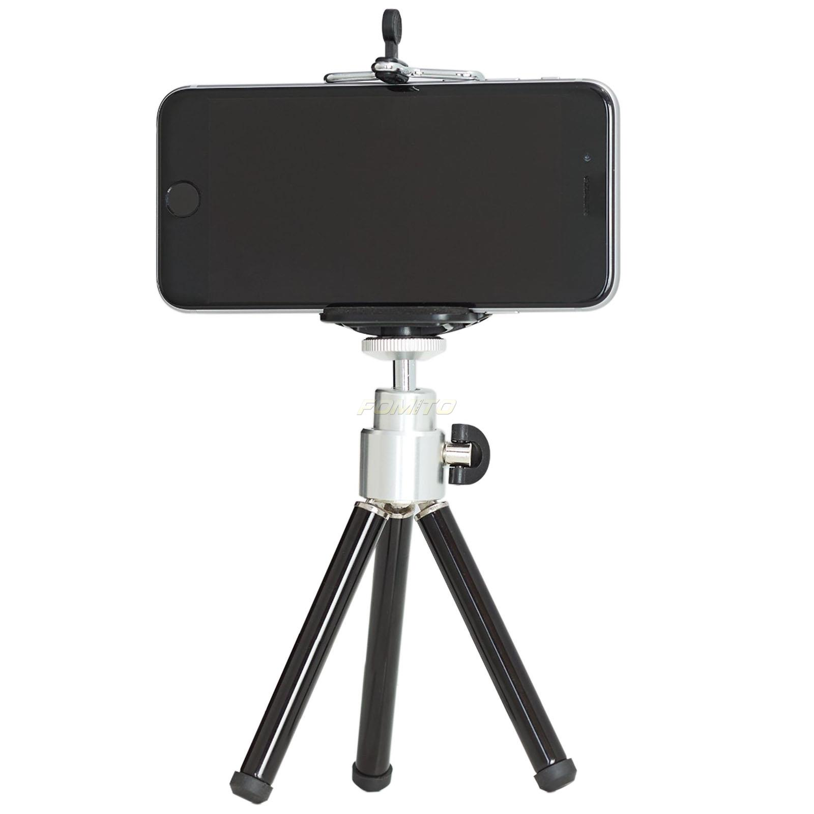 Universal Mini Tripod Stand 1/4 Holder+Phone clip Holder for Digital Camera for Samsung for Galaxy S2 S3 S4(China (Mainland))