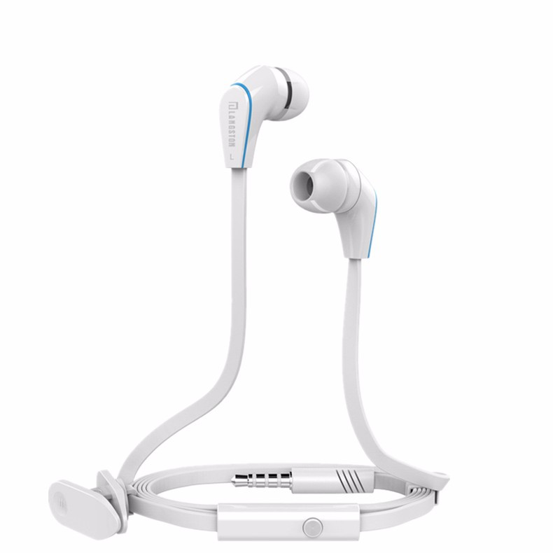 High Quality Langstom JM12 Stereo Earphone Super Bass Headphone Hifi Headset with microphone for Mobile Phone Xiaomi iphone