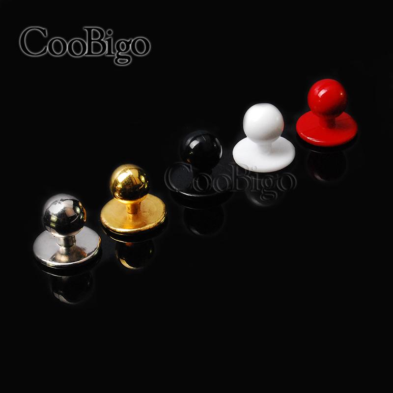 100pcs Pack 11.5mm Plastic Buttons Restaurant Uniforms Chef Jacket Uniform Suit Buttons#FLQ089-B/W/G/S(China (Mainland))
