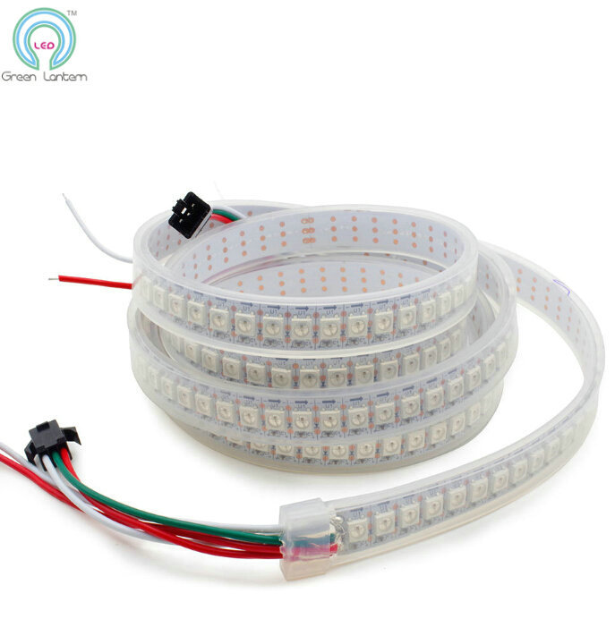 WS2812B LED Strip Waterproof IP67 144LED/m Dream Color 5v WS2812 WS2812B Flexible 5050 Led Strip Dmx Addressable(China (Mainland))