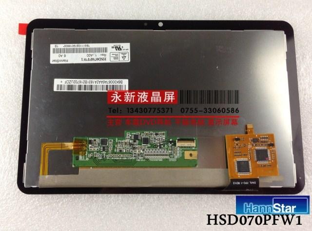 Hsd070pfw1 lcd screen touch screen 7.0 original tablet screen