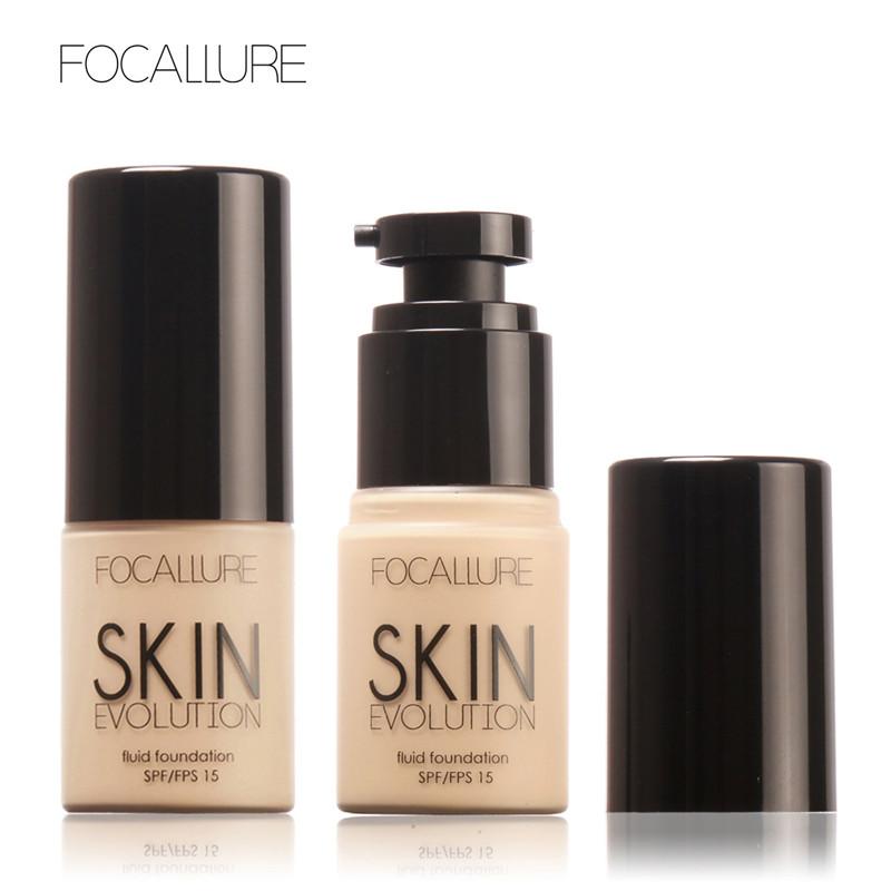FOCALLURE Foundation Face Makeup Base Liquid Foundation BB Cream Concealer Whitening Moisturizer Oil-control cosmetic 1pcs(China (Mainland))