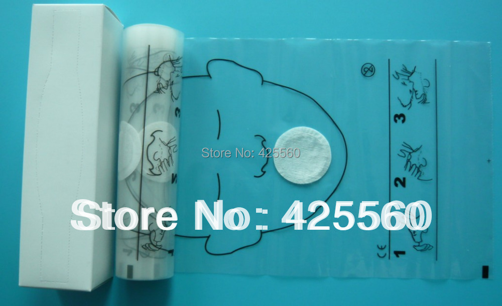 Free shipping hot selling 36pcs/roll CPR face shield for cpr training<br><br>Aliexpress