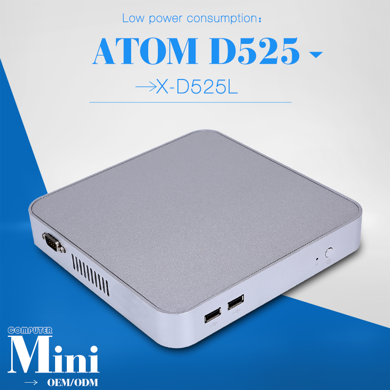 Support Video Games And Movice Host Pc Minipc Computer Terminals X26-d525l D525 1.8GHZ With 1RJ-45 LAN Port Barebone OS(China (Mainland))