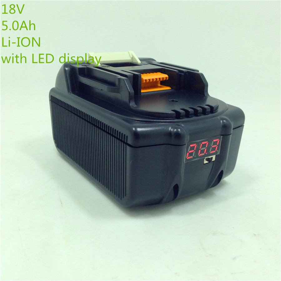 Rechargeable batteries for Makita BL1850 LXT Lithium Ion 5.0 Ah Battery power tool spares for power tools(China (Mainland))