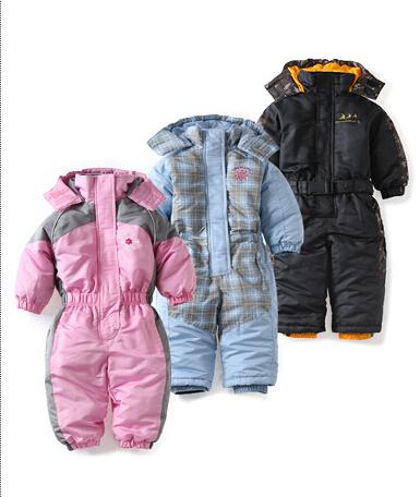 Ребенка детский зимний комбинезон осень зима ветрозащитный девочка мальчиков комбинезон полиэстер ветрозащитный snowsuit ropa де bebe детская одежда