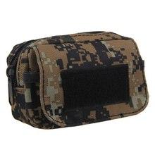 4 colores Mini táctico militar bolso de la cintura bolsa de la cremallera cinturón riñonera para la tarjeta del teléfono móvil clave(China (Mainland))