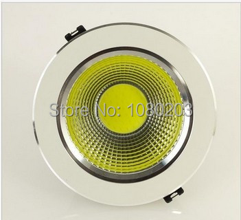 6pcs/lot 2014 Free shipping Wholesale - High Power 3W 5W 7W 9W 12W COB LED Dimmable downlight COB led down light free shipping(China (Mainland))