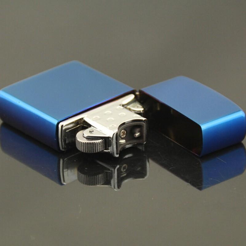 1pc Blue Ice Usb Charging Cigarette Lighter Usb Cigar