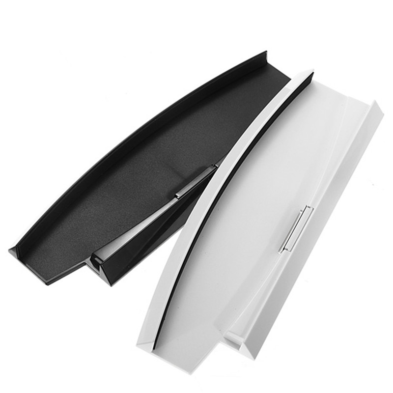 NEW !! Best Promotion Black/White Color Vertical Stand Dock Base For Sony For Playstation 3 Slim Console For PS3 2000 Series(China (Mainland))