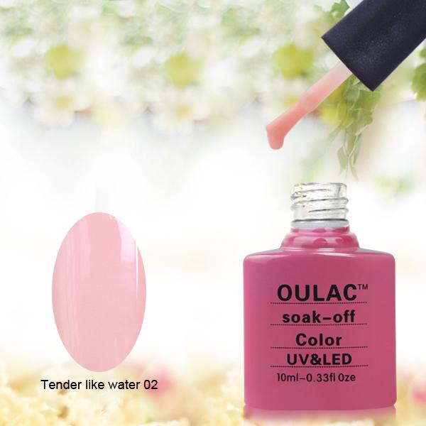 Oulac summer colors new nails manicure design gel nail polish, easy off gel polish, led uv gel(China (Mainland))