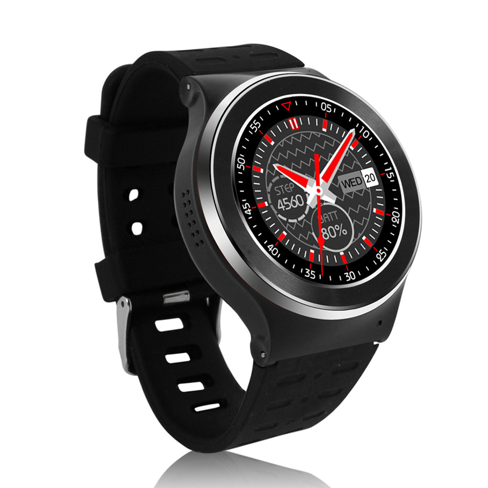2016 new arrive 3G Android Watch SmartWatch with SIM Camera Heart Rate Watch Phone Bluetooth Smart Watch(China (Mainland))