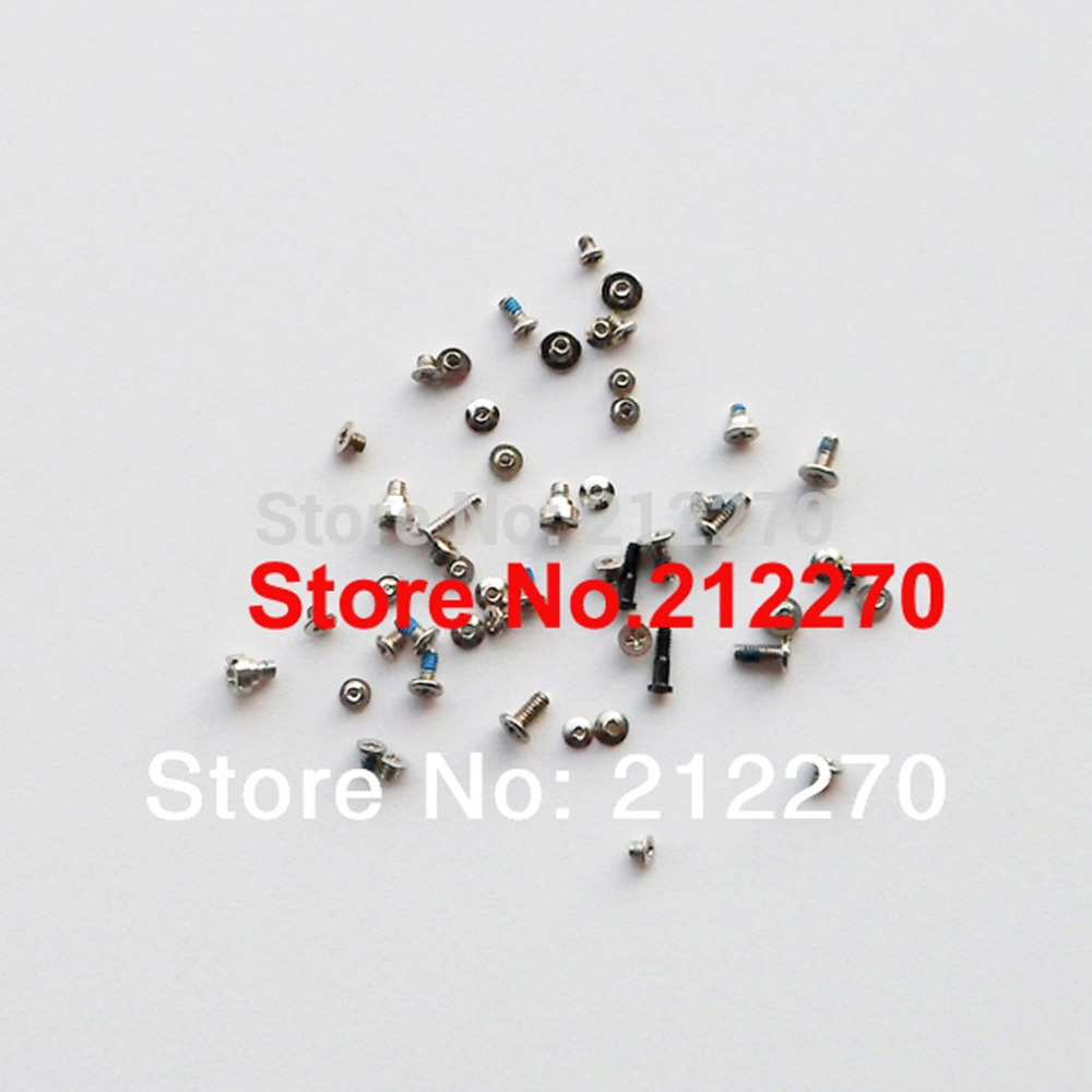 200set/lot Original New Full Screws Set For iPhone 5S Replacement Parts Free DHL EMS