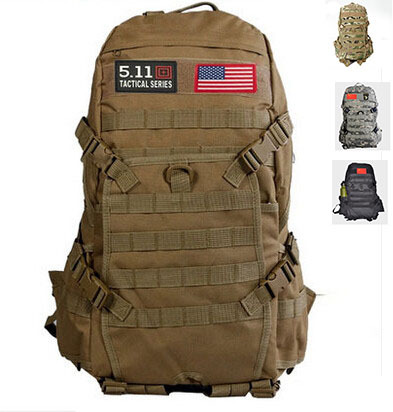 Hot Sale!! TAD Men Military Backpack Molle Camouflage Travel Bags 40L Waterproof Nylon Multi-function Laptop - Yina's Procket store