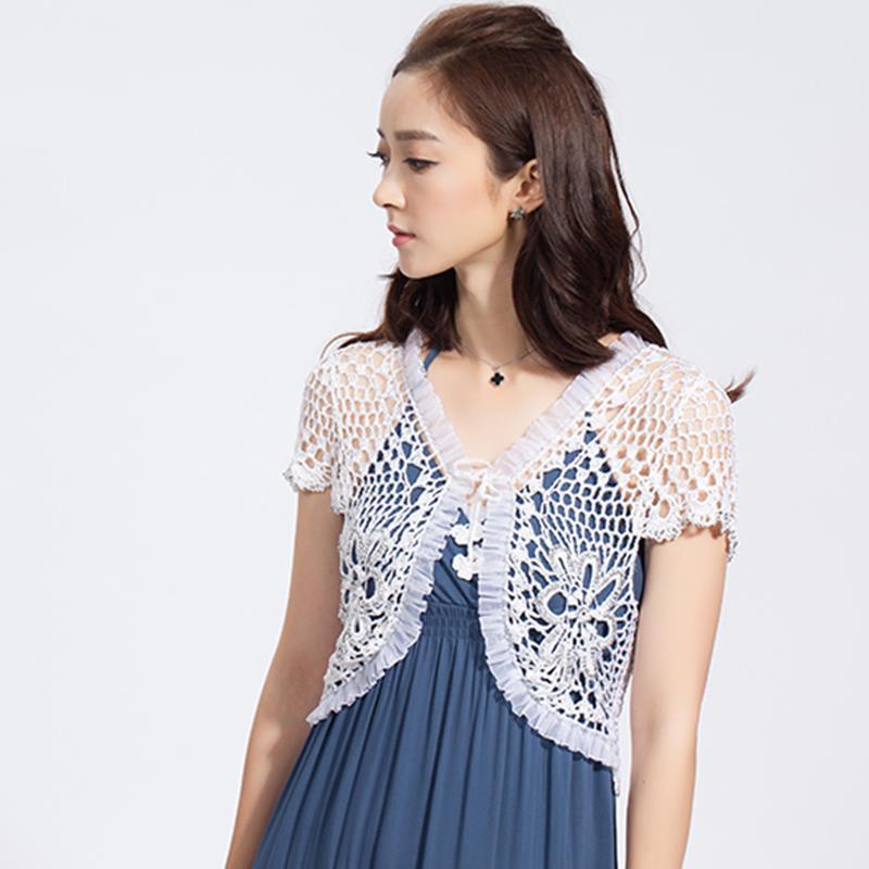 Free Crochet Pattern For Ladies Short Sleeve Cardigan ~ Dancox for .