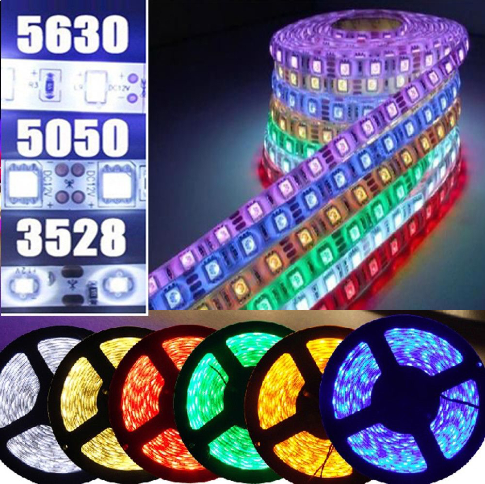 5M 5050 SMD 300 led flexible strip string Ribbon light tape Roll lamp White/Warm White Red Green Blue free shipping(China (Mainland))