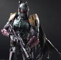 Play Arts Kai Boba Fett Star War Imperial Stormtrooper Darth Vader Bounty Hunter 27cm PVC