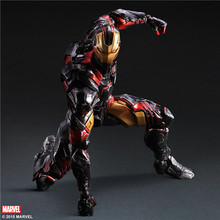 Marvel's Iron Man Model Ornaments Limited Edition Hand Mk42 Iron Man Action Figure Ironman Toys