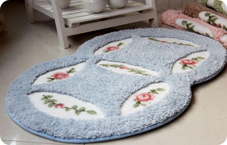 new home rugs carpet kitchen mat door oval acrylic mats nonslip rug bedroom