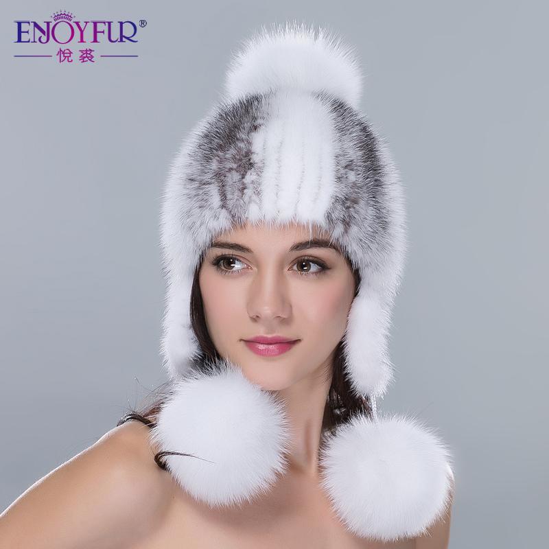aliexpress buy winter fur hats for real mink