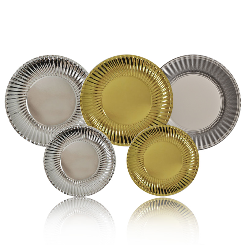 Event & Party Supplies Disposable paper plates for birthday party cake set Pie dish Cake plate Cake pan(China (Mainland))