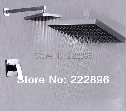 Brass Bathroom Shower Faucets Lanos Rain Shower Set Bath Mixer Wall Water Tap Torneira Chuveiro Banheiro Ducha Shower Hotels(China (Mainland))