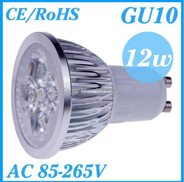 1pcs LED Dimmable GU10 E27 MR16 GU5.3 3W 9W 12W 15W High power LED Bulb Spotlight Downlight Lamp LED Lighting,FREE SHIPPING(China (Mainland))