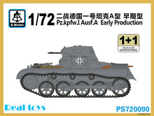 S-modelo 1/72 PS720090 pz. kpfw. I ausf. un Early Production kit modelo de plástico