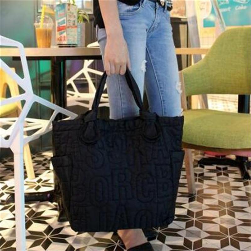 baby solid nylon bag 2016 casual handbag women's high-capacity portable cloth bag Mummy shoulder bag(China (Mainland))