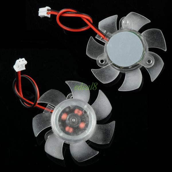 Mini 45mm 12V PC CPU VGA Video Card Heatsink Cooling Cooler Fan 2 Pin Connector<br><br>Aliexpress