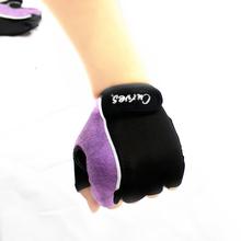 Women Gloves Purple horizontal bar dumbbell exercise fitness gloves ladies gloves sports gloves
