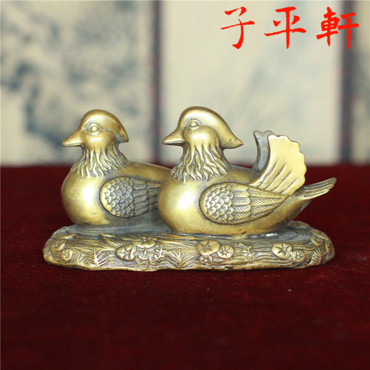 Здесь можно купить  The opening of copper ornaments duck by marital relations reminder Wang peach Wang marriage peach of feng shui ornaments  Обувь