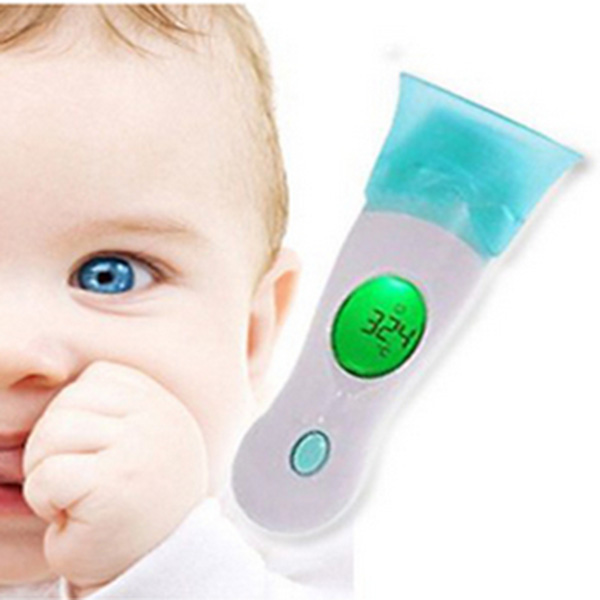 Hot Sale Termometer Health Monitors Baby Adult Digital 4 In 1 Body Ear Multifunctional Infrared Thermometer(China (Mainland))
