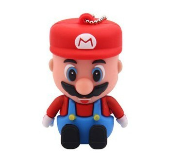 Super Mario Model USB 2.0 Flash Memory Stick Pen Drive 2GB 4GB 8GB 16GB 32GB LU035