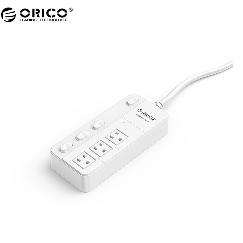 ORICO High Value Recommend Surge Protection Power Socket IC for Ipad Iphone (SPC-S3-US-WH)(China (Mainland))