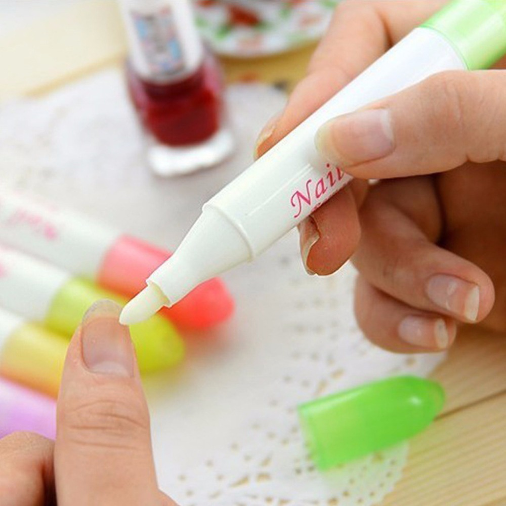 1set Nail Art Polish Remover Manicure Mistakes Corrector Pen + 3 Tips Cleaner Correct DIY Tool Cleaner Erase Nail Art Equipment(China (Mainland))
