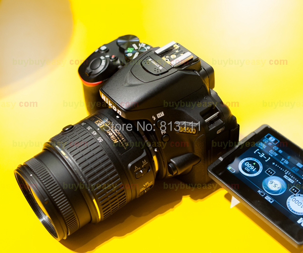 Genuine New Nikon D5500 Digital SLR Camera Body with Nikon AF-S DX NIKKOR 18-55mm f/3.5-5.6G VR II Lens(Hong Kong)