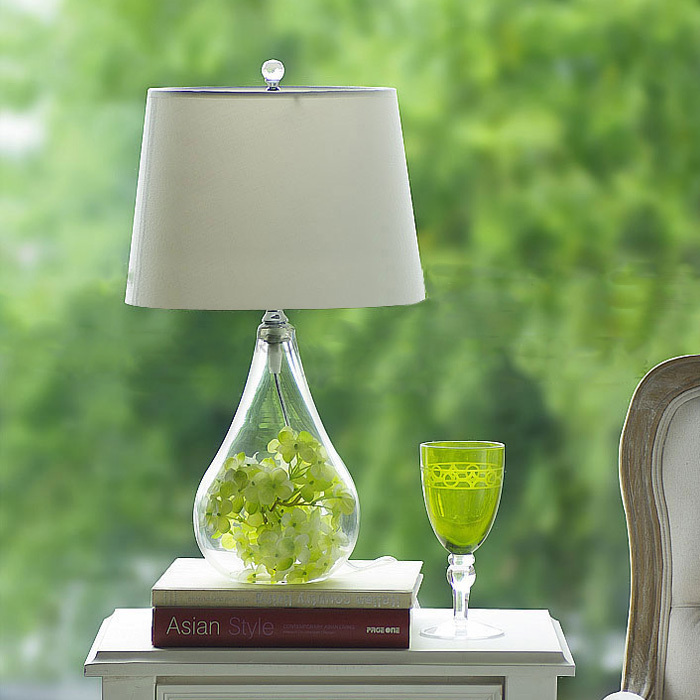 table lamp murano glass - ChinaPrices.net:American pastoral small glass table lamp modern creative fashion living  room bedroom bedside IKEA style simple,Lighting