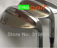 2015 new model champagne SM5 Golf clubs Golf Wedges set   52/56/60 3pc/set Steel shaft Golf Club With Head Cover Free Shipping