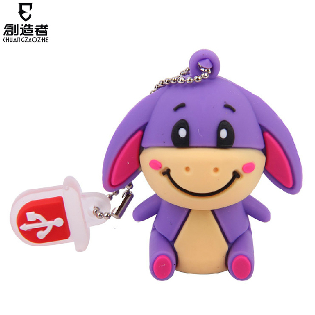 16gu plate cartoon usb flash drive usb flash drive usb flash drive